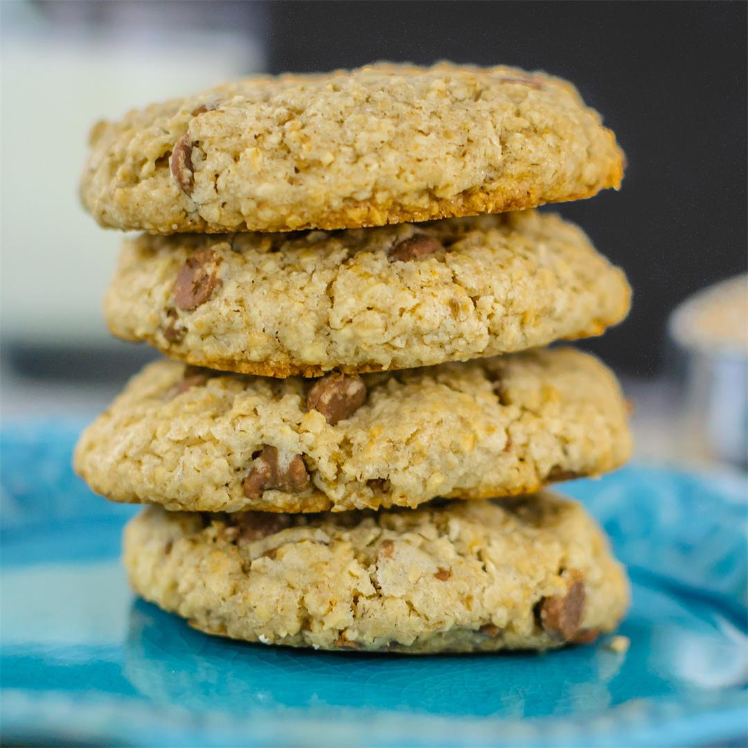 Steel Cut Oatmeal and Chocolate Cookies