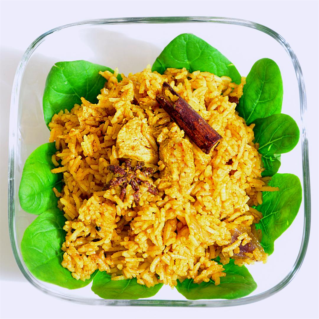 Quick-Fix Simple Chicken Pulao