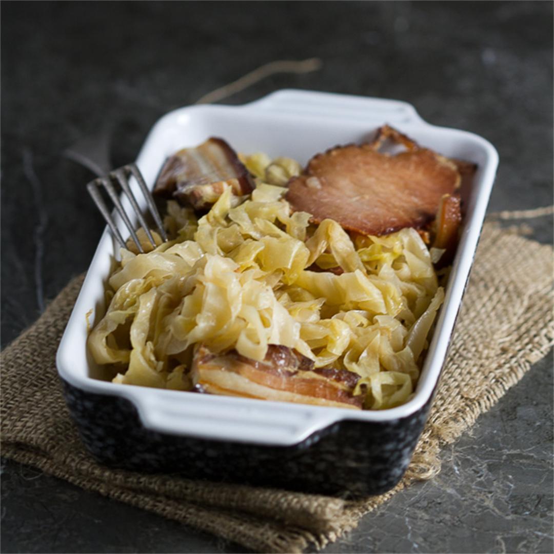 Nourishing Baked Sauerkraut