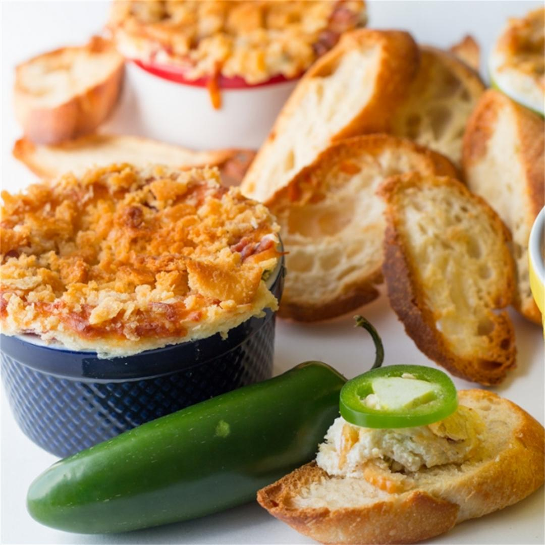 Bacon Jalapeno Popper Dip - spicy cream cheese dip