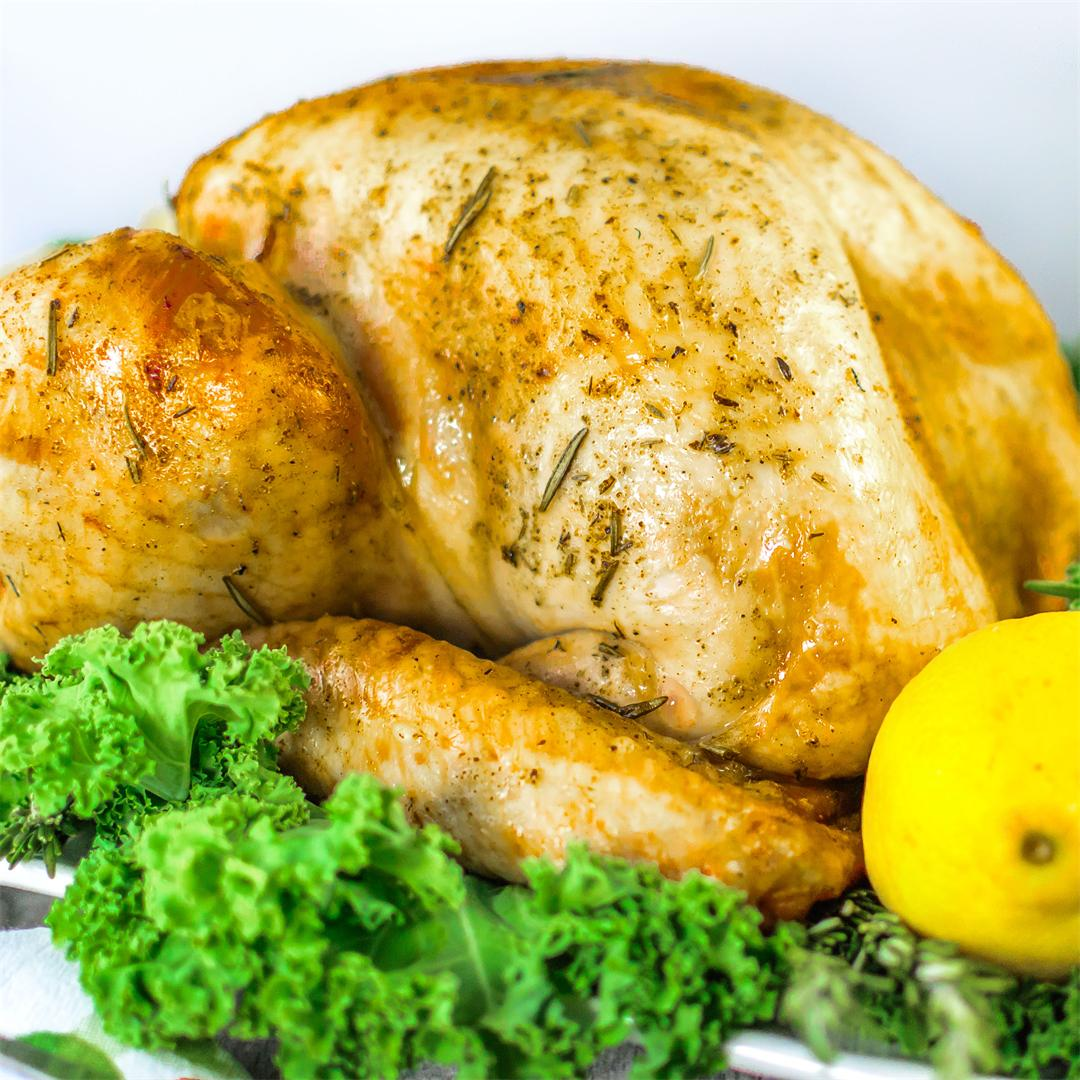 Lemon & Rosemary Roasted Turkey