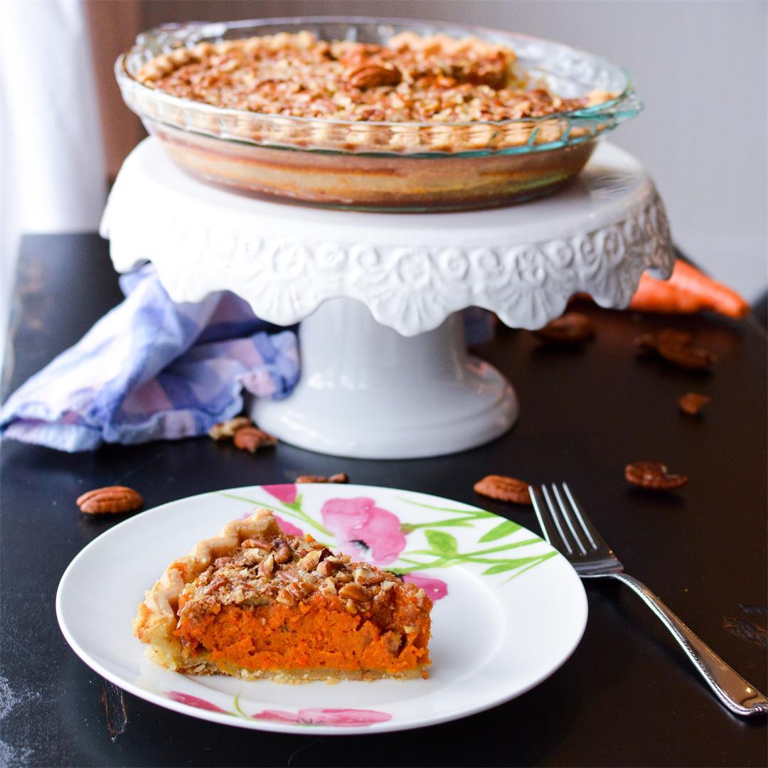 Carrot Pecan Pie