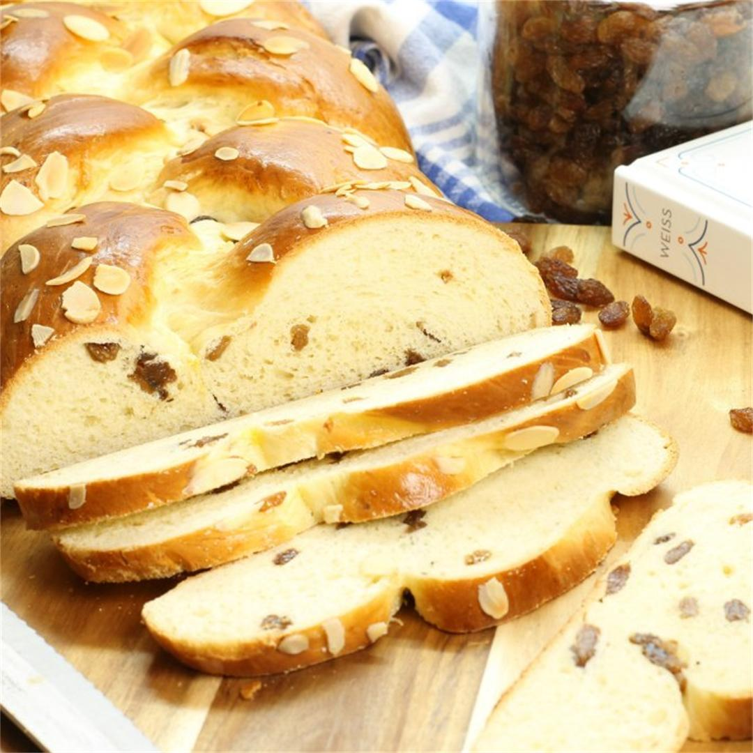 German Raisin Bread ( Rosinenbrot)