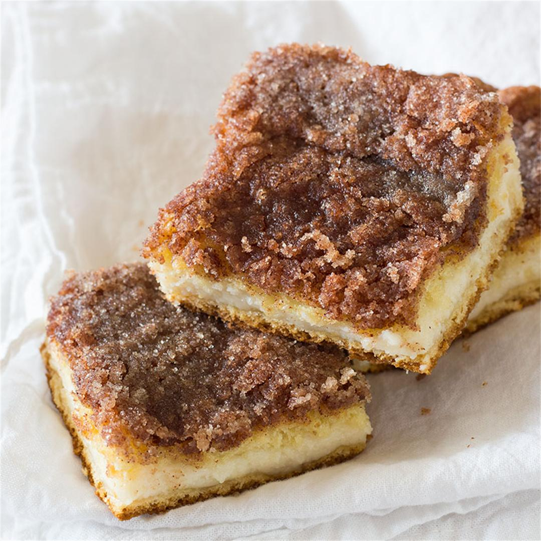 Sopapilla Cheesecake Squares - Easy but delicious