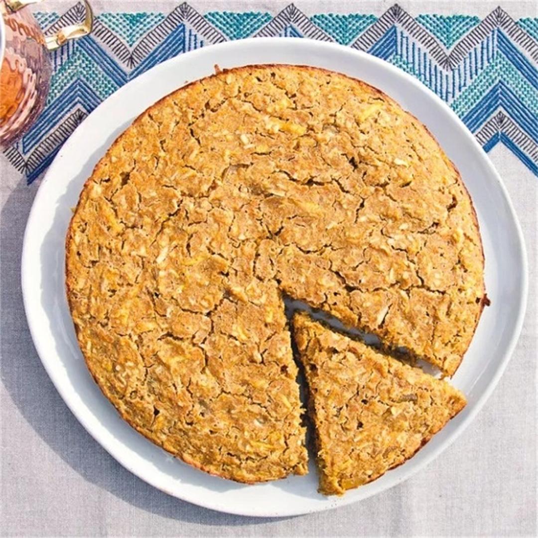Spiced Apple Carrot Cake