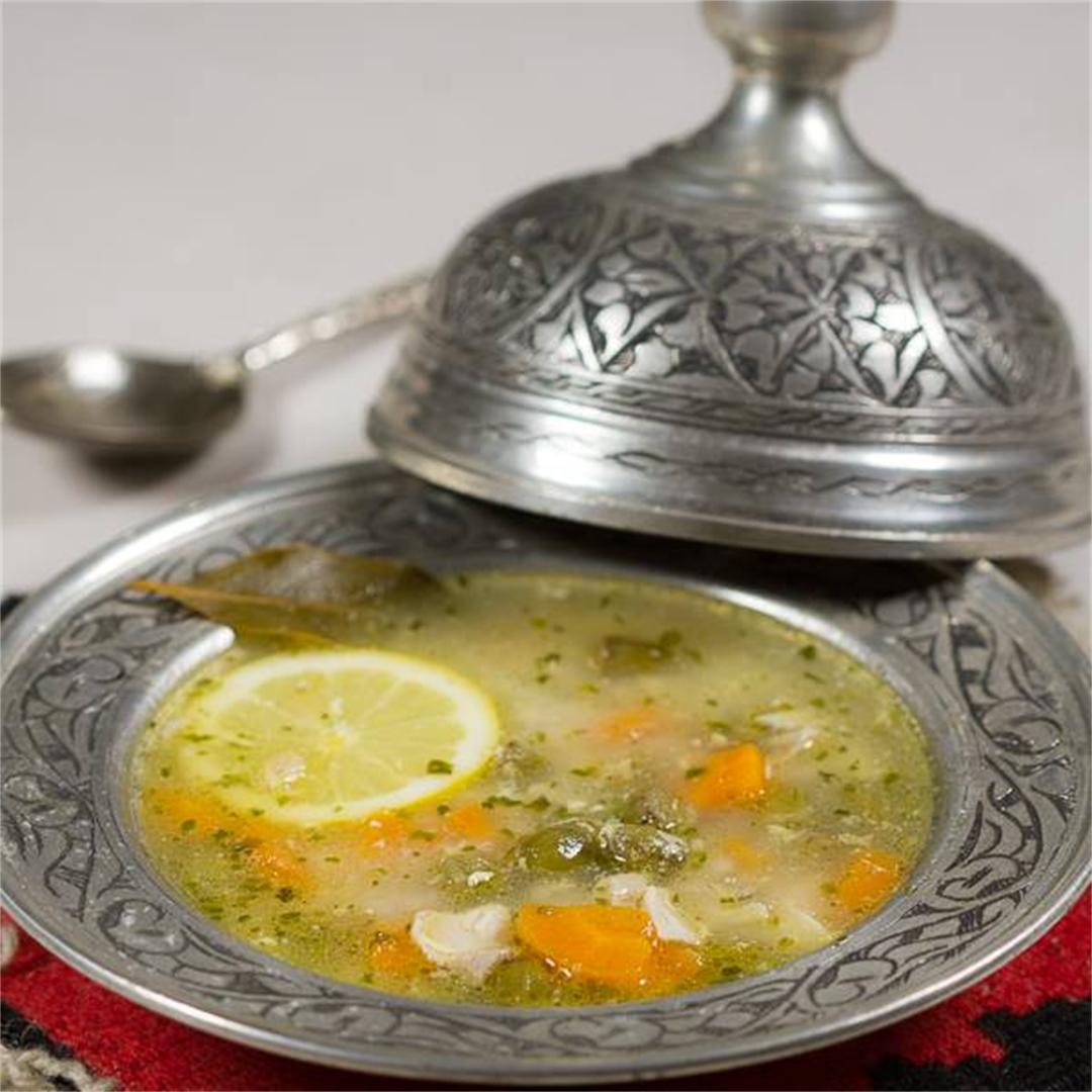 Bey's Soup: Traditional Version