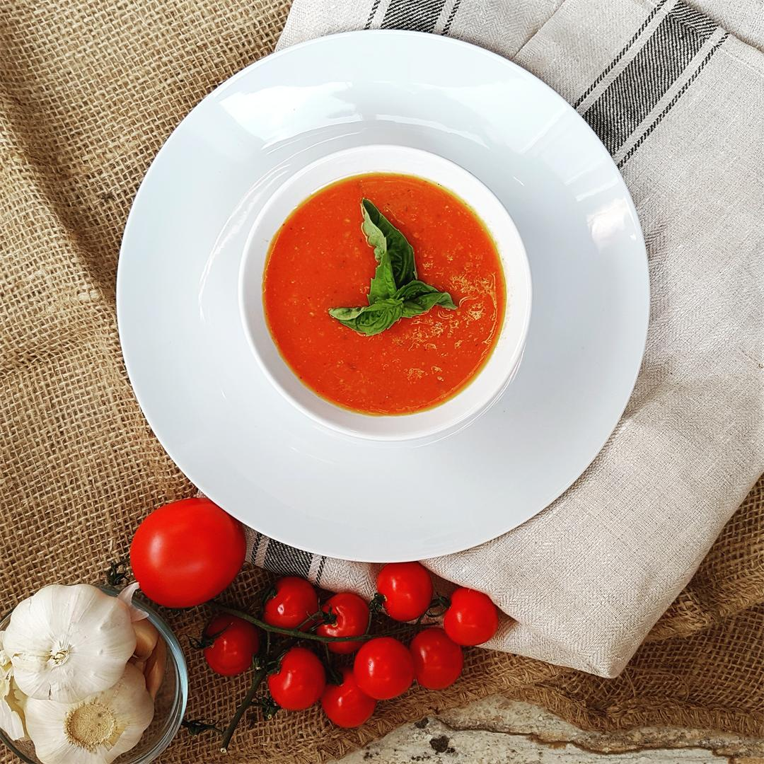 Roasted Tomato Vegetable Soup