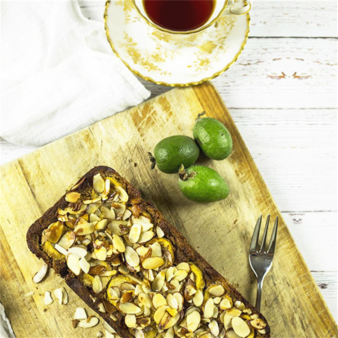 Banana & Feijoa Loaf - Gluten Free & Refined Sugar Free