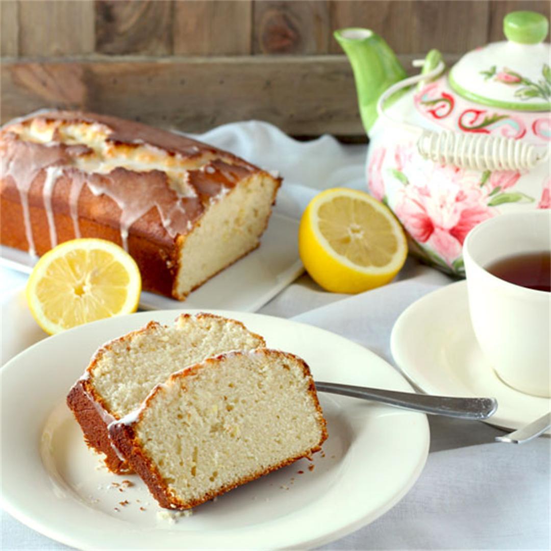 Lemon Loaf Cake with Lemon Glaze