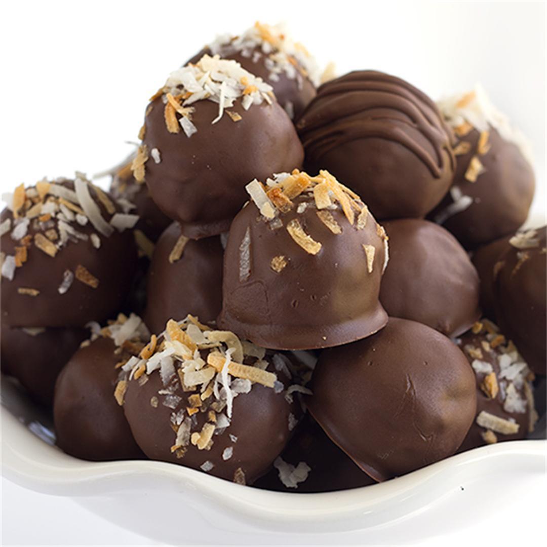 German Chocolate Truffles