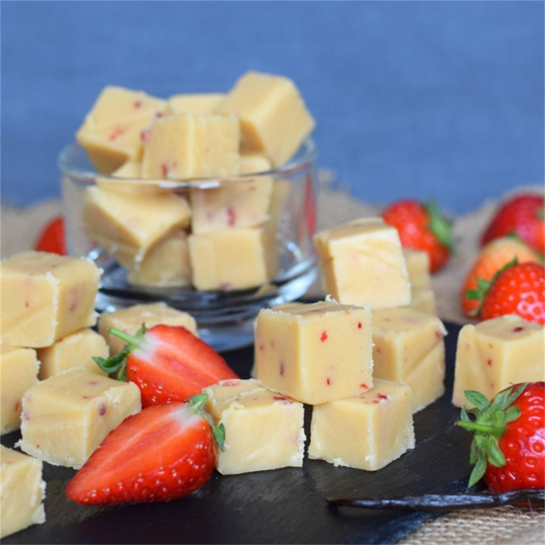 Strawberry & Vanilla Fudge