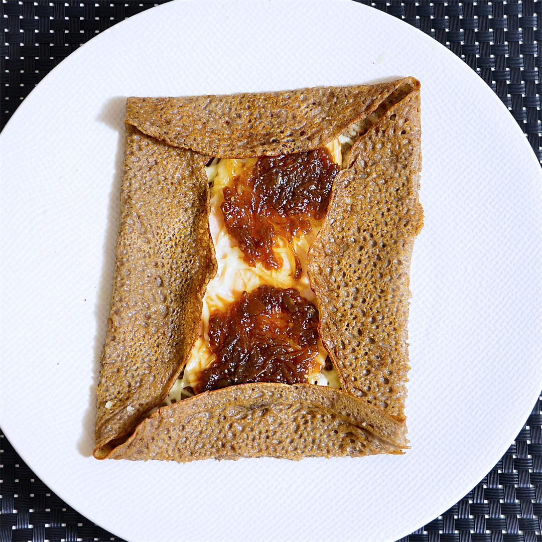 Galette A La Maison : Traditional French Buckwheat Crepes