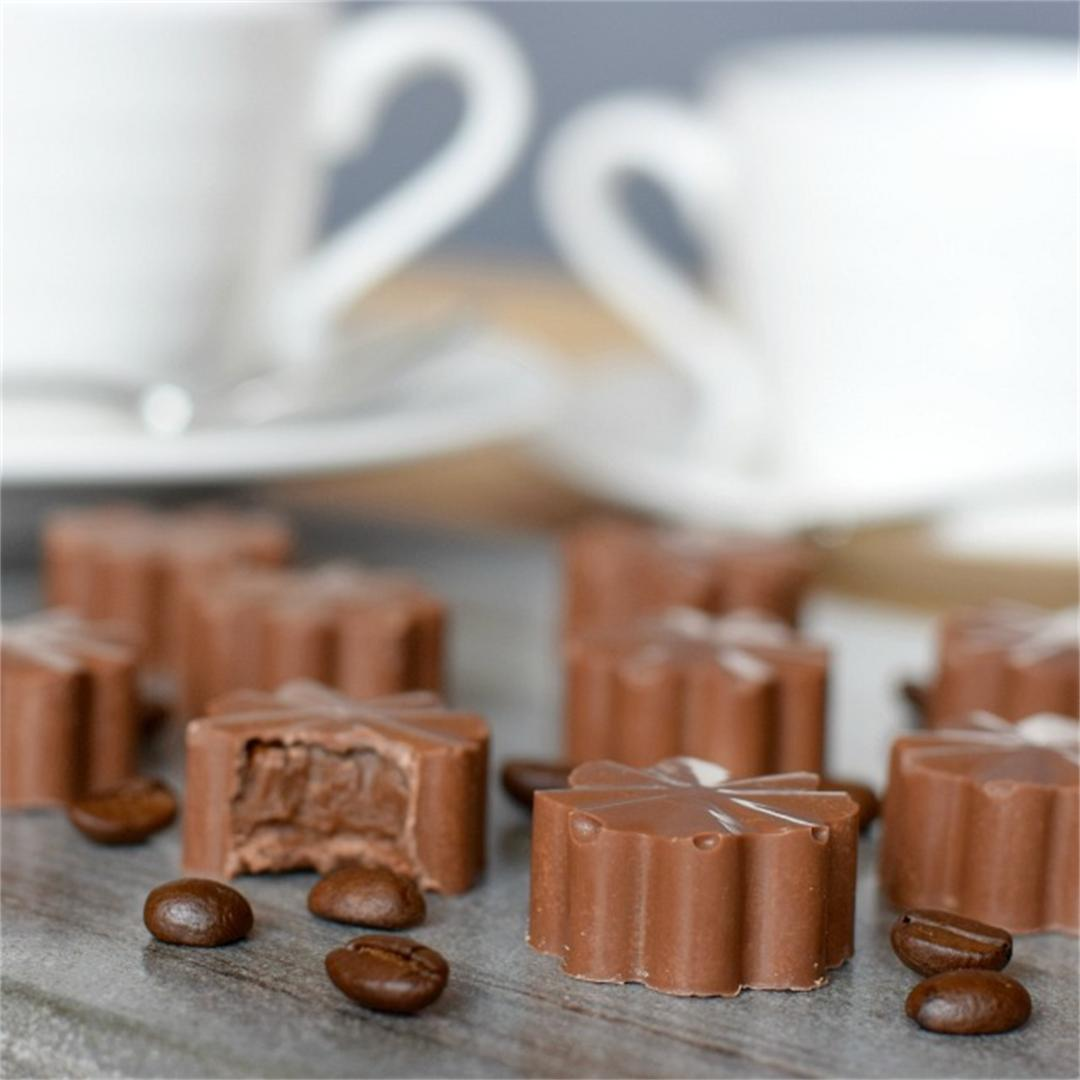 Homemade Coffee Cream Chocolates