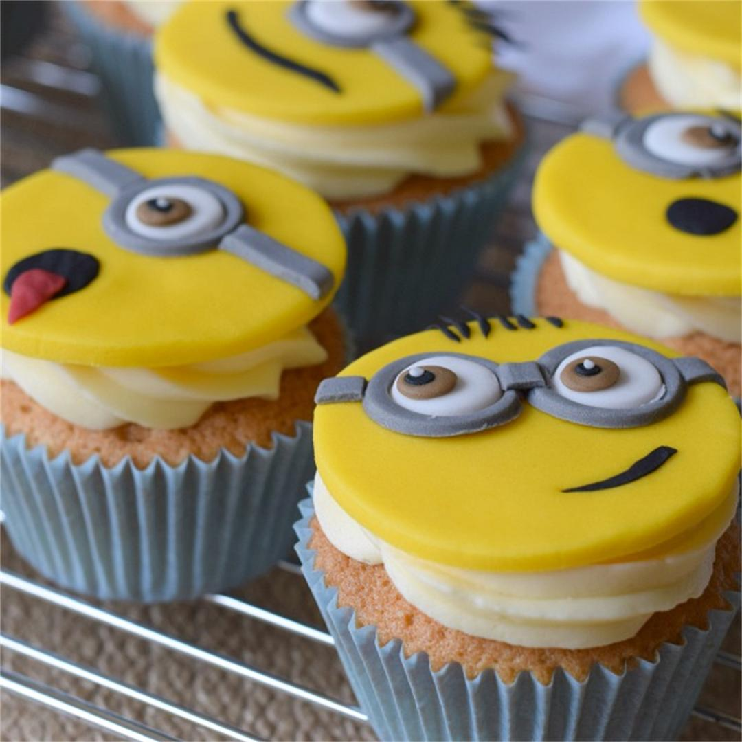 Minion Cupcakes, with how to video