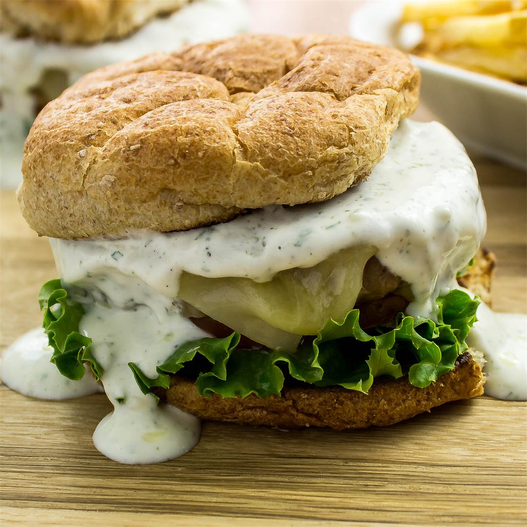 Ranch Turkey Burger