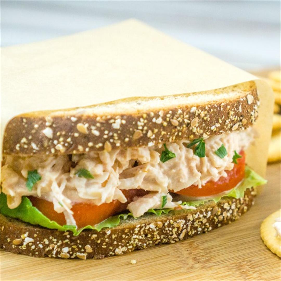 3-Ingredient Chicken Salad Sandwich