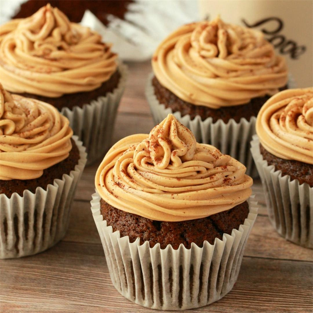 Vegan Coffee Cupcakes
