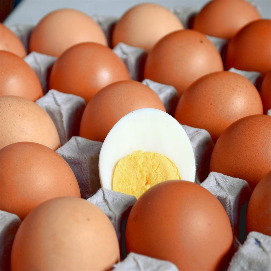 The perfect hard boiled eggs