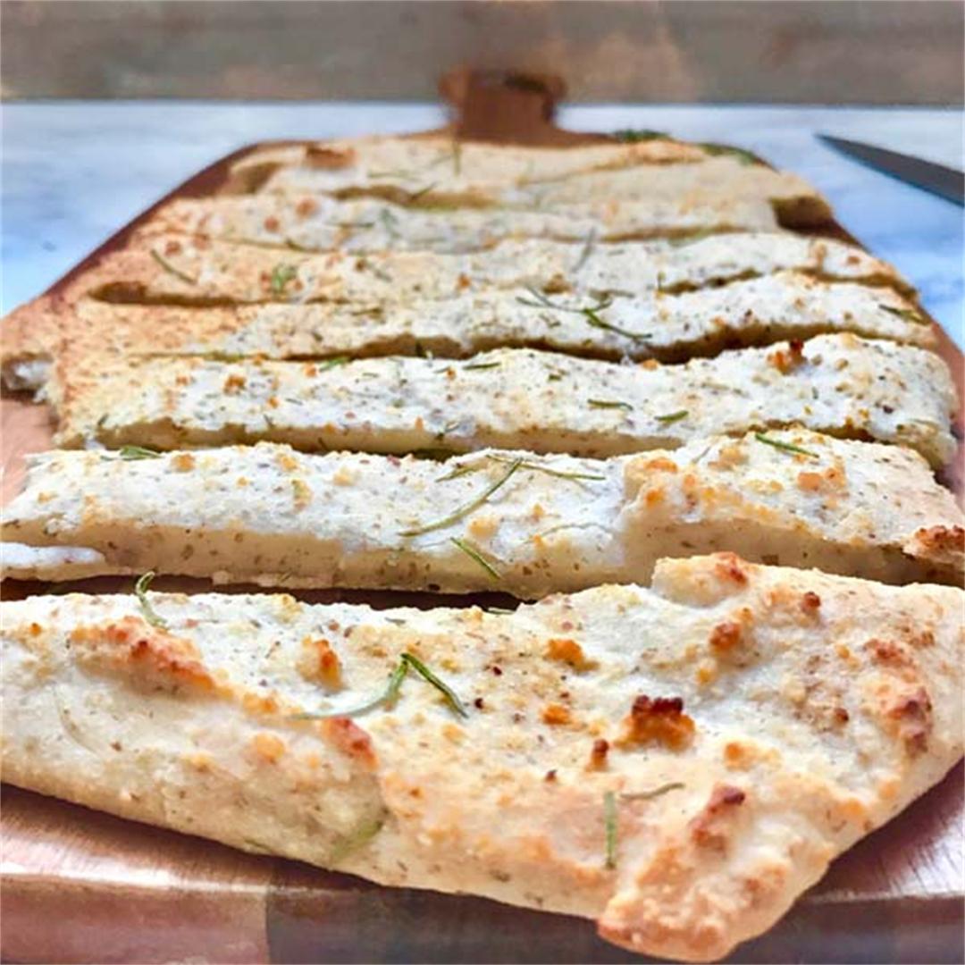 Oven Baked Nut Free Vegan Paleo Flatbread