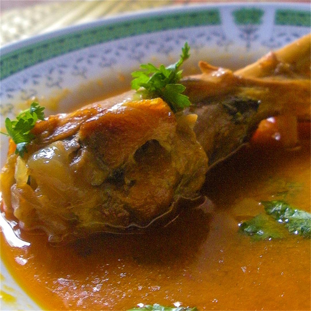 Authentic Chicken Curry with Desi Chicken