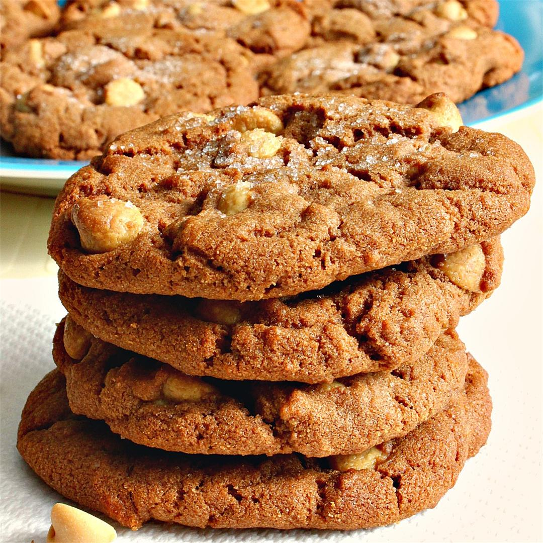 Nutella Peanut Butter Chip Cookies
