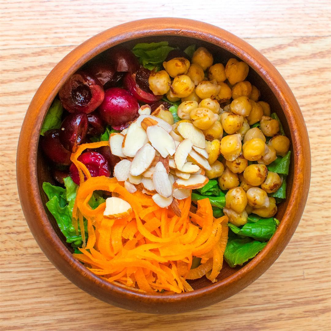 Cherry Chickpea Salad