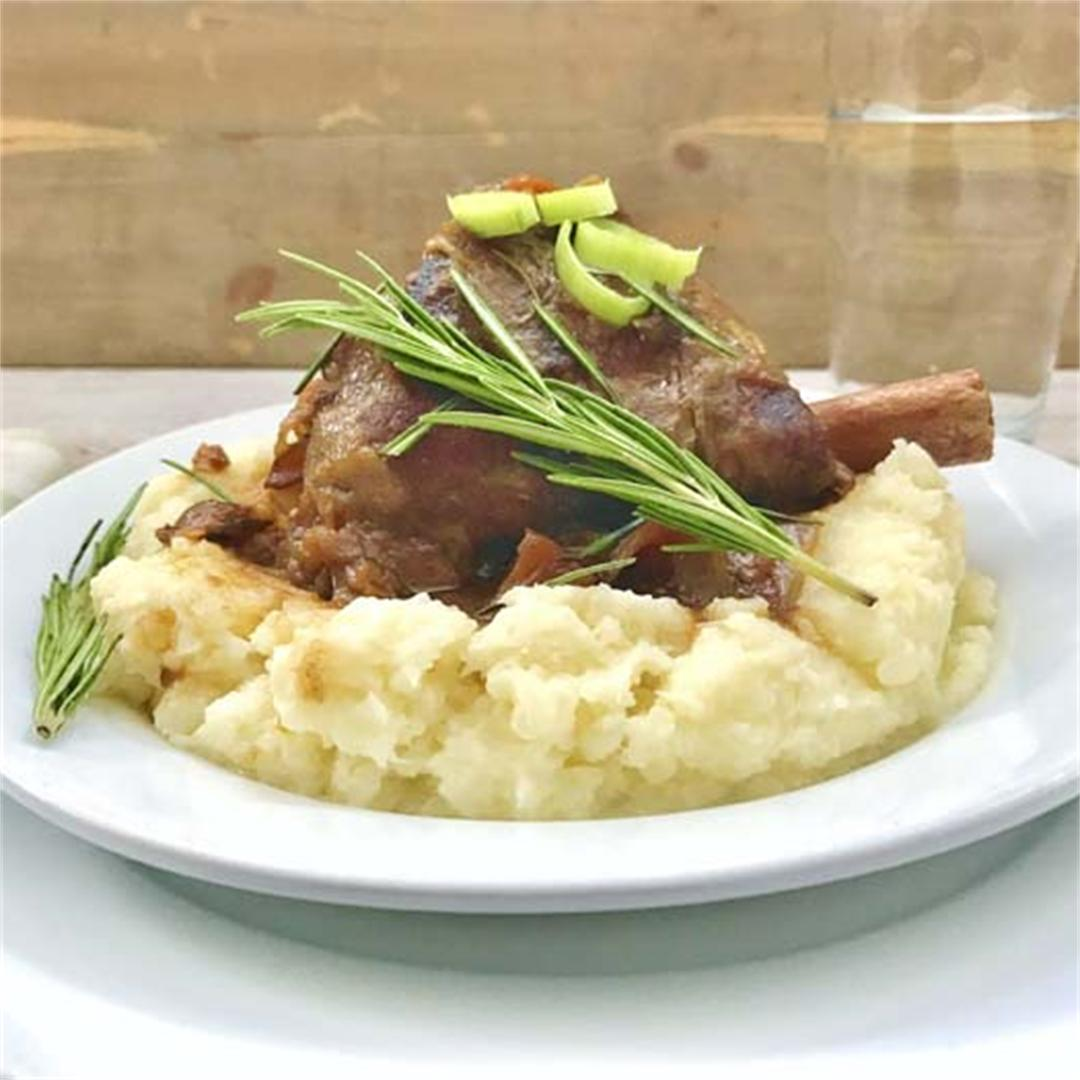 The Best Lamb Shank Recipe… Ever!
