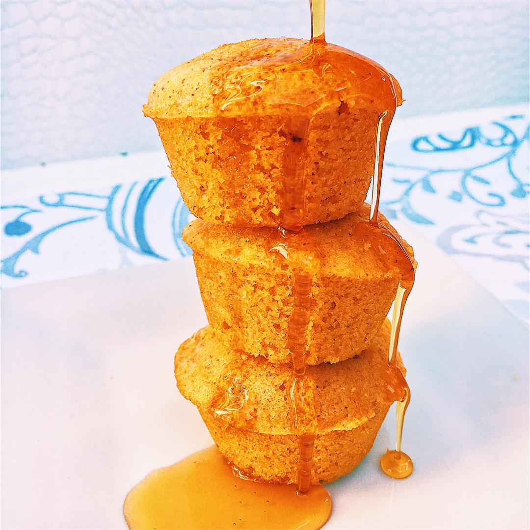 Mini Maple Corn Muffins