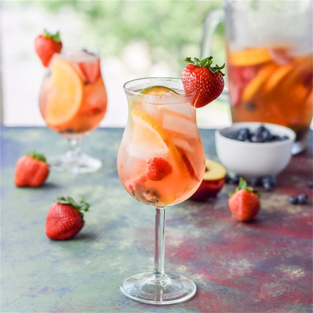 Fabulous Fruity White Sangria