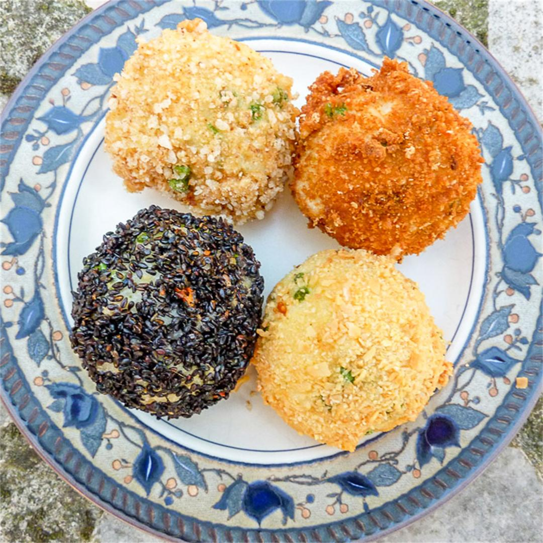 Rice Arancini Recipe Gluten Free and Vegetarian