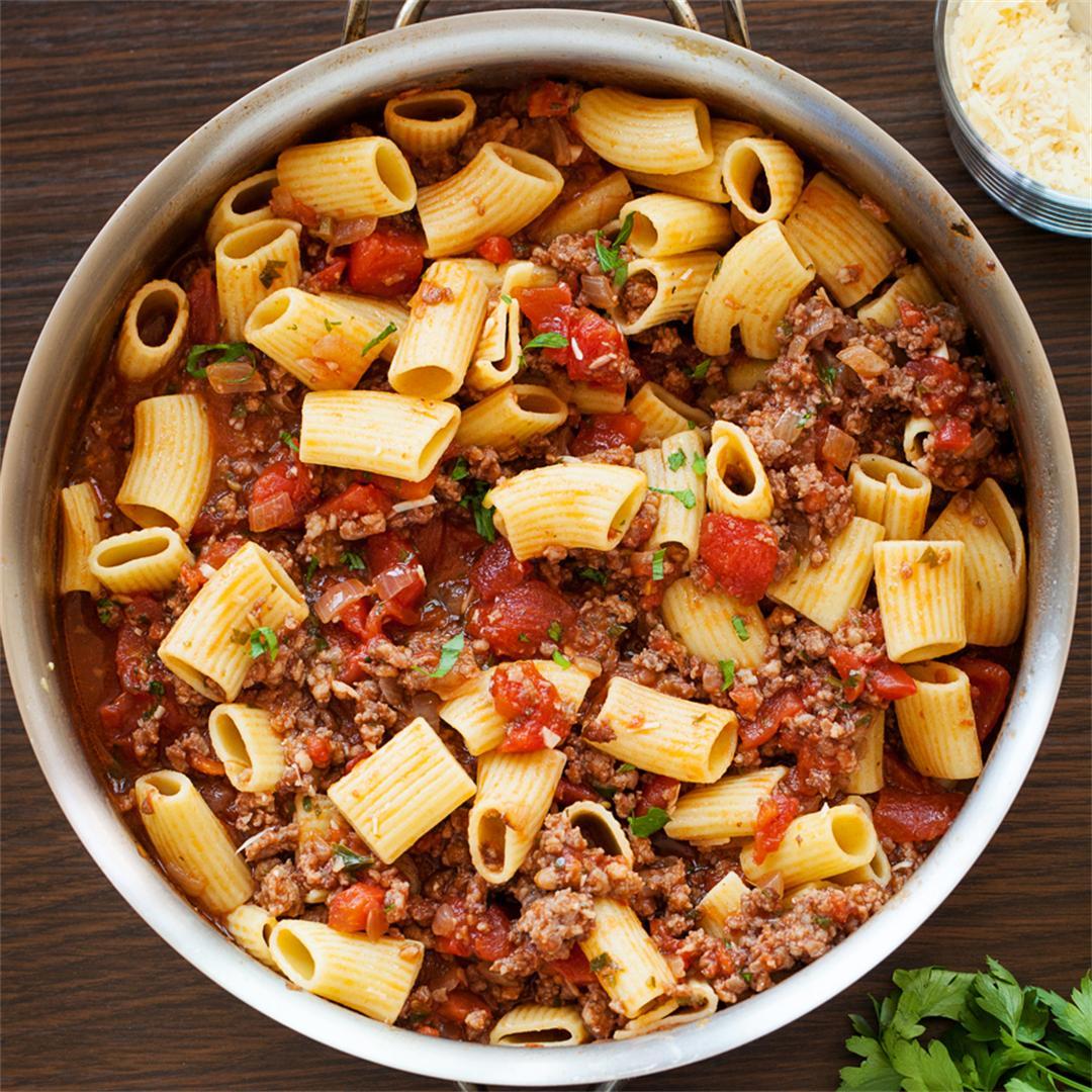 Italian Sausage Tomato Pasta Sauce