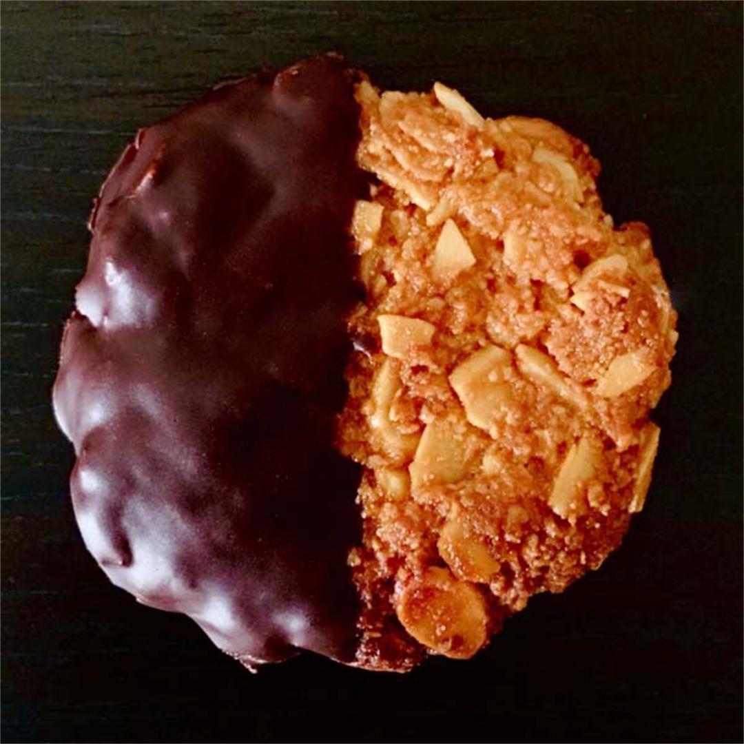 5 Ingredient Chocolate Florentines