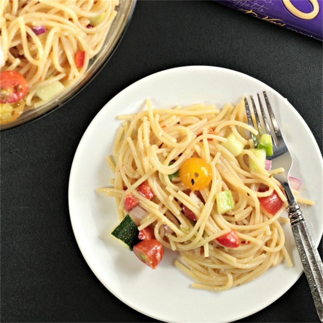 Garden-Fresh Spaghetti Salad