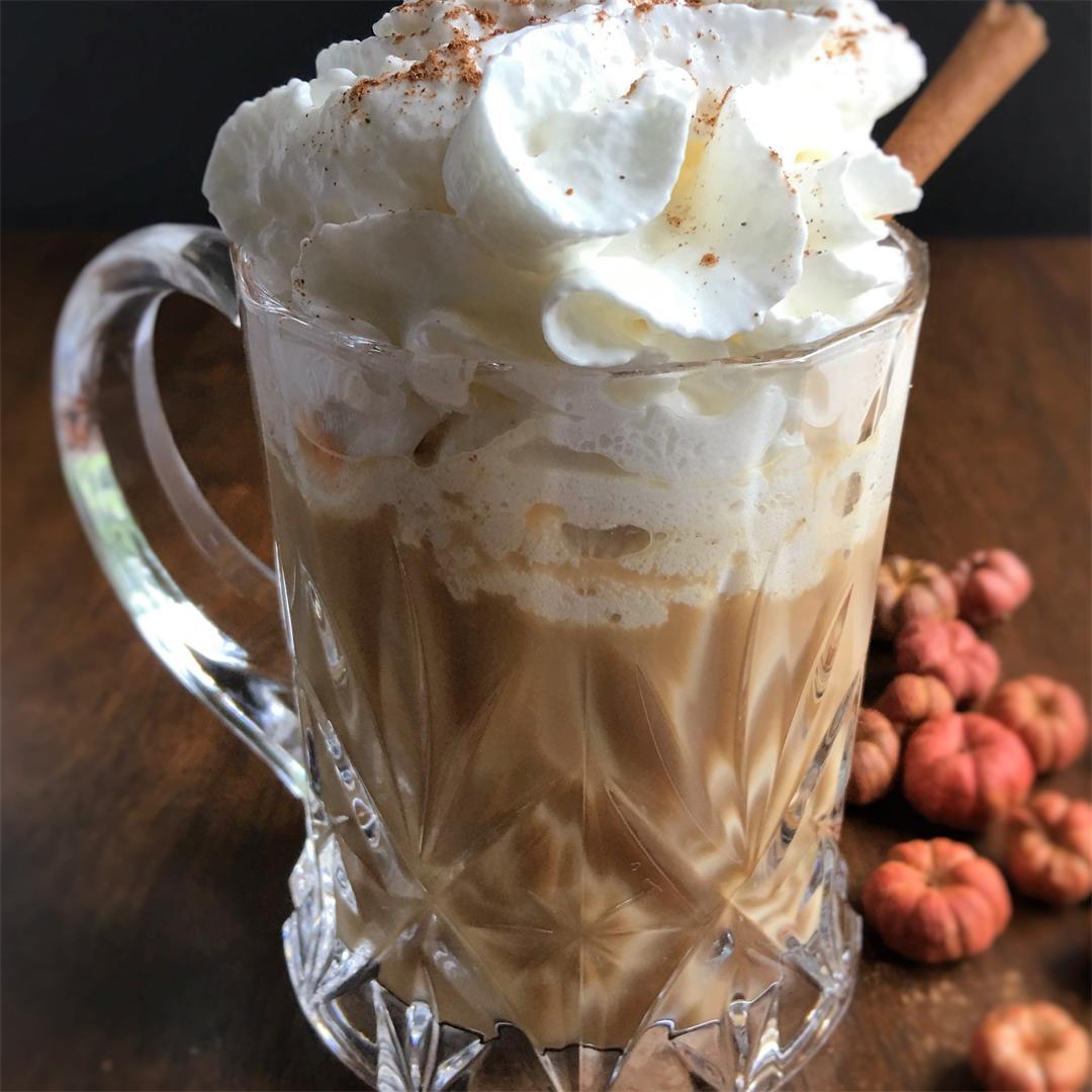 Pumpkin Spice Latte Coffee Creamer