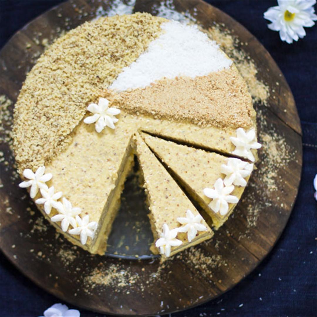 6 ingredient no-bake sand cake