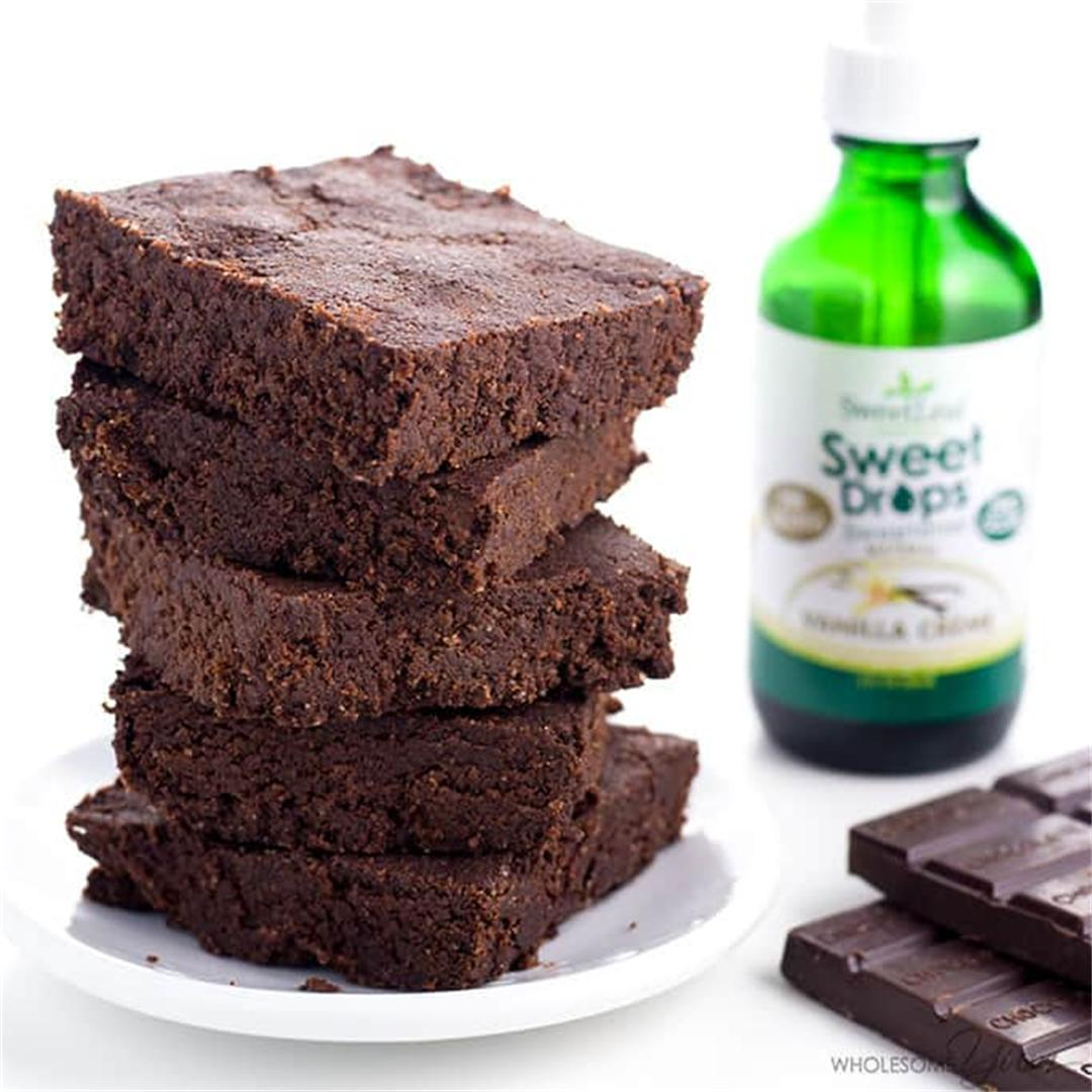 Keto Brownies Recipe (Low Carb, Gluten-Free) - 6 Ingredients