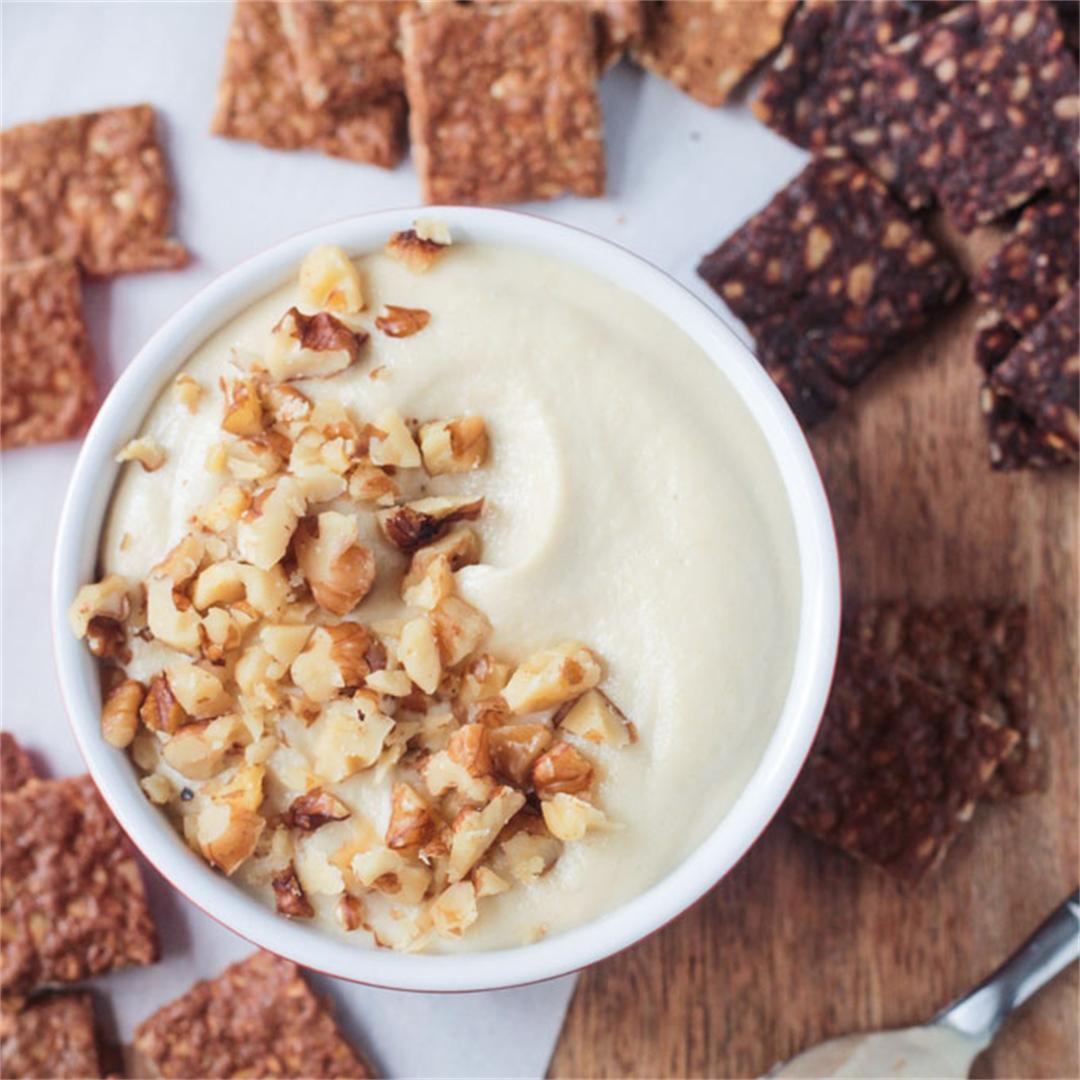 Maple Walnut Vegan Cream Cheese