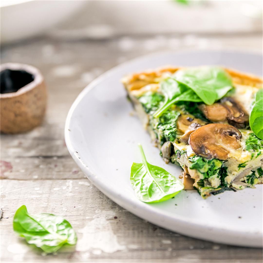 Mushroom & Spinach Frittata