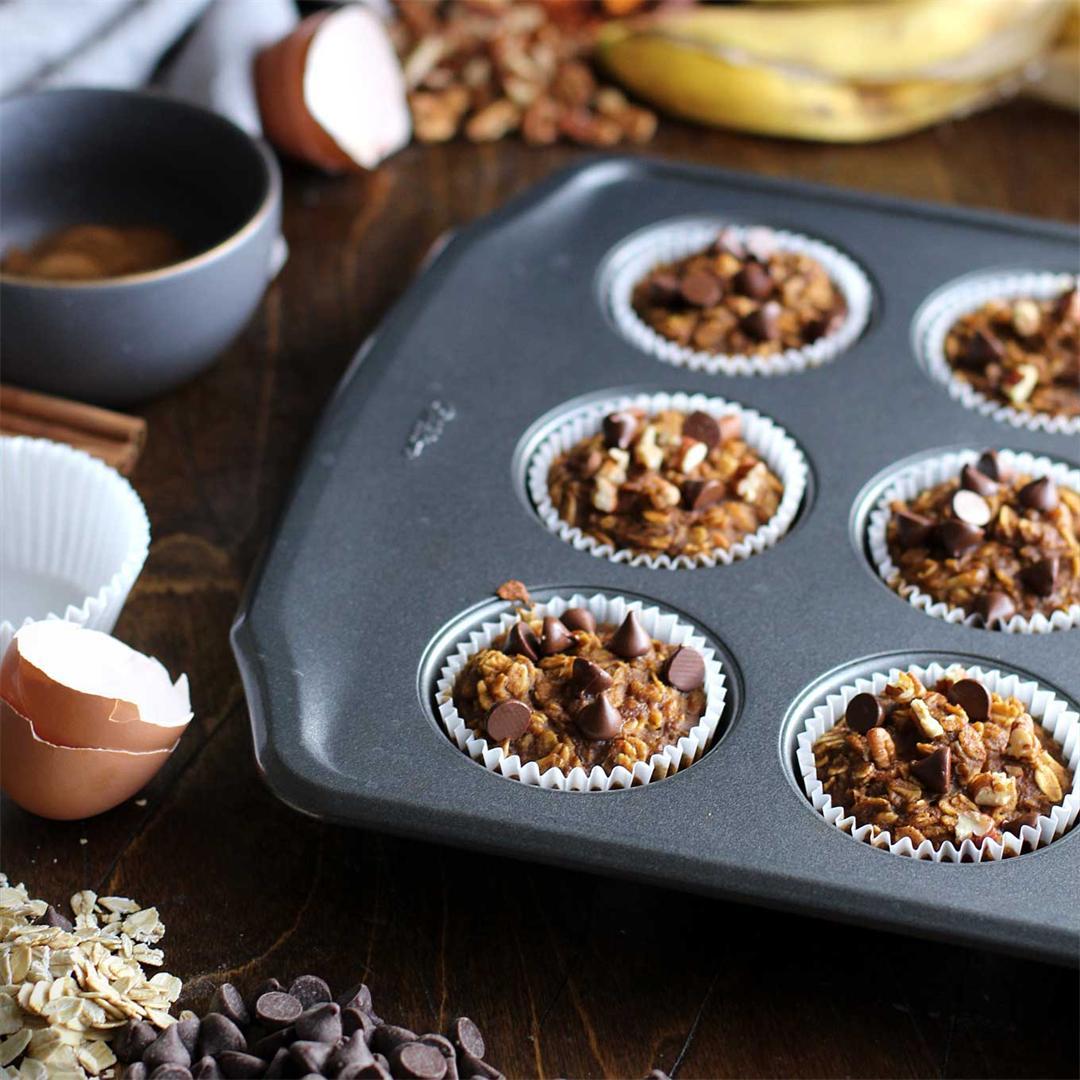 Pumpkin Spice Oat Cups - gluten-free & refined sugar-free!