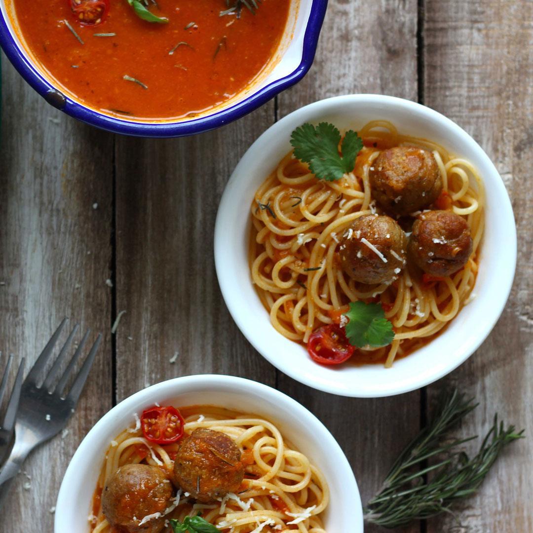 Easiest Spaghetti and Meatballs