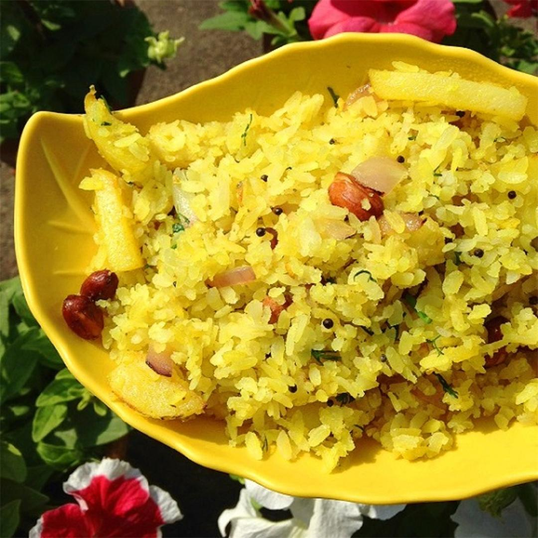 How to make malvani poha – Best poha recipe