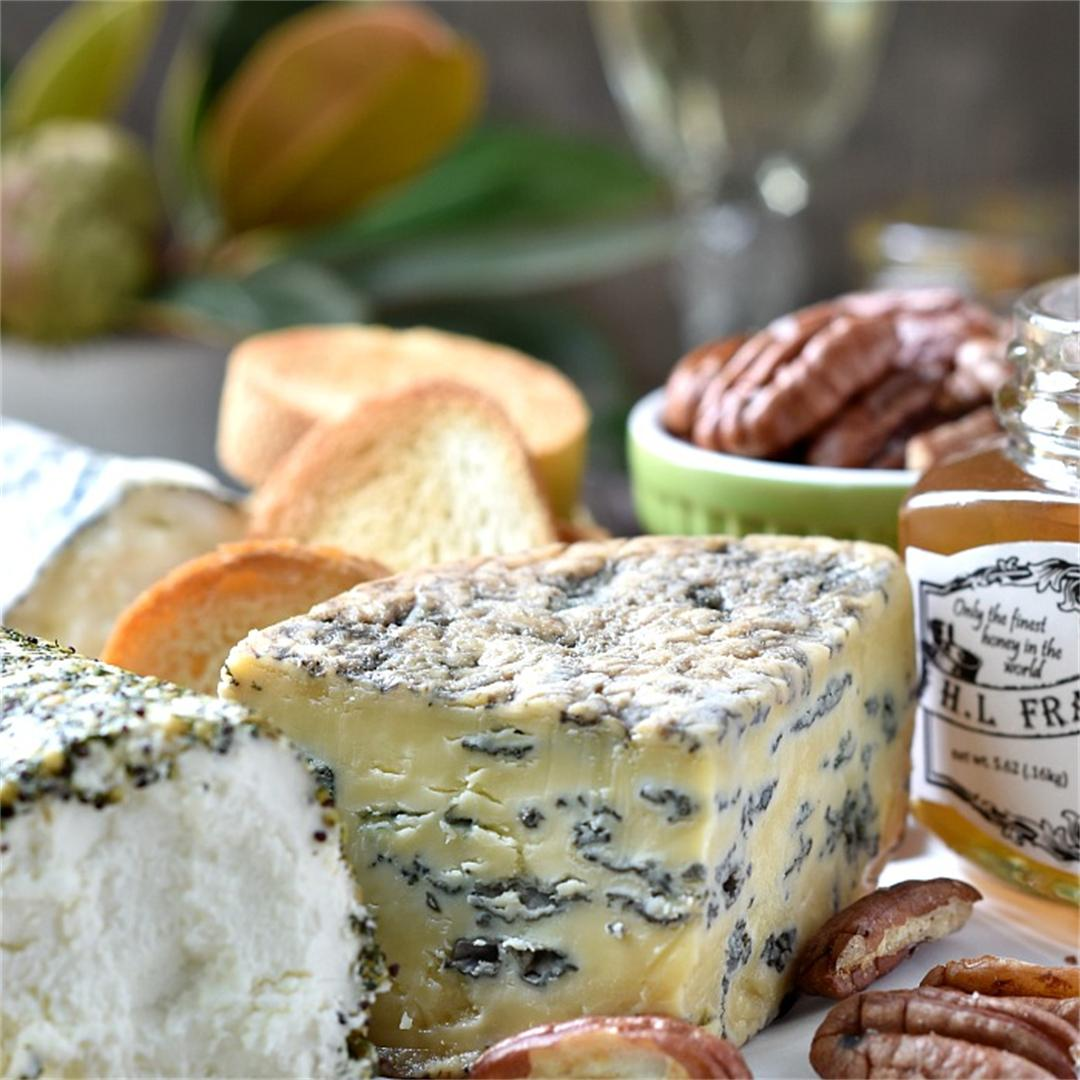 Make a Cheese Board with all Local Cheeses