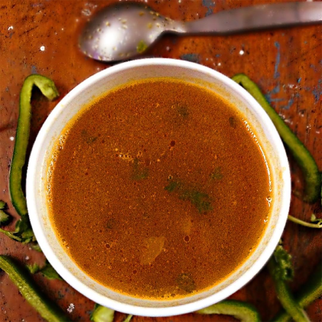 Spiced lentil soup – delicious 20-minutes soup