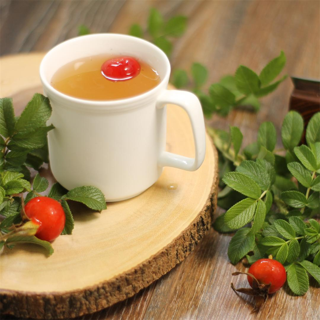 Wild Rose Hip Tea