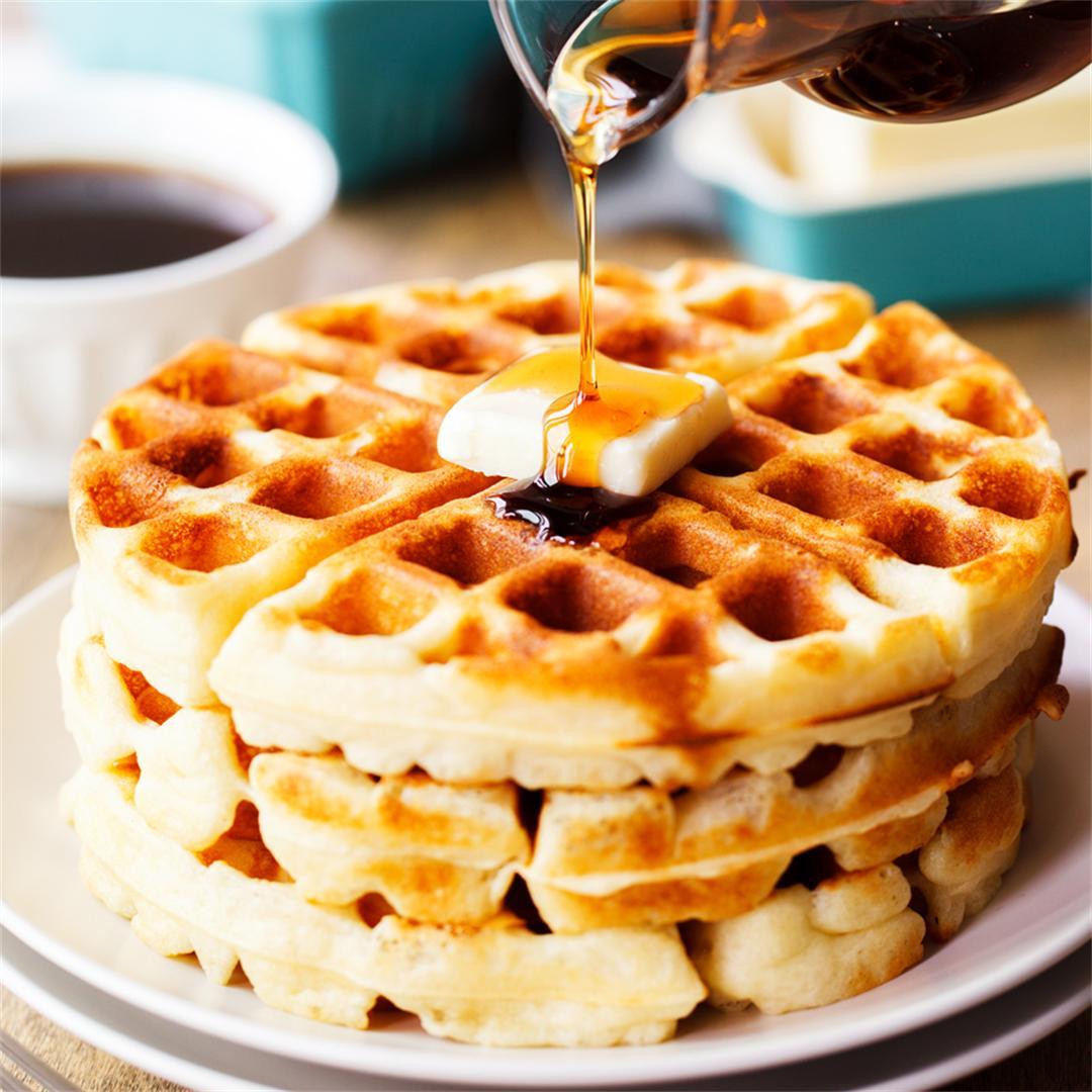 Quick Yeast Waffles