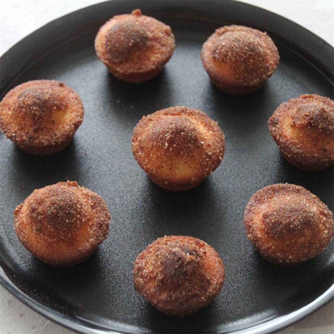 buttermilk cinnamon mini muffins