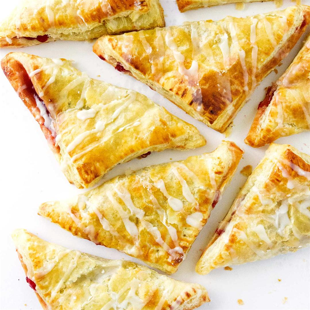 Easy Puff Pastry Turnovers (Any Flavor)