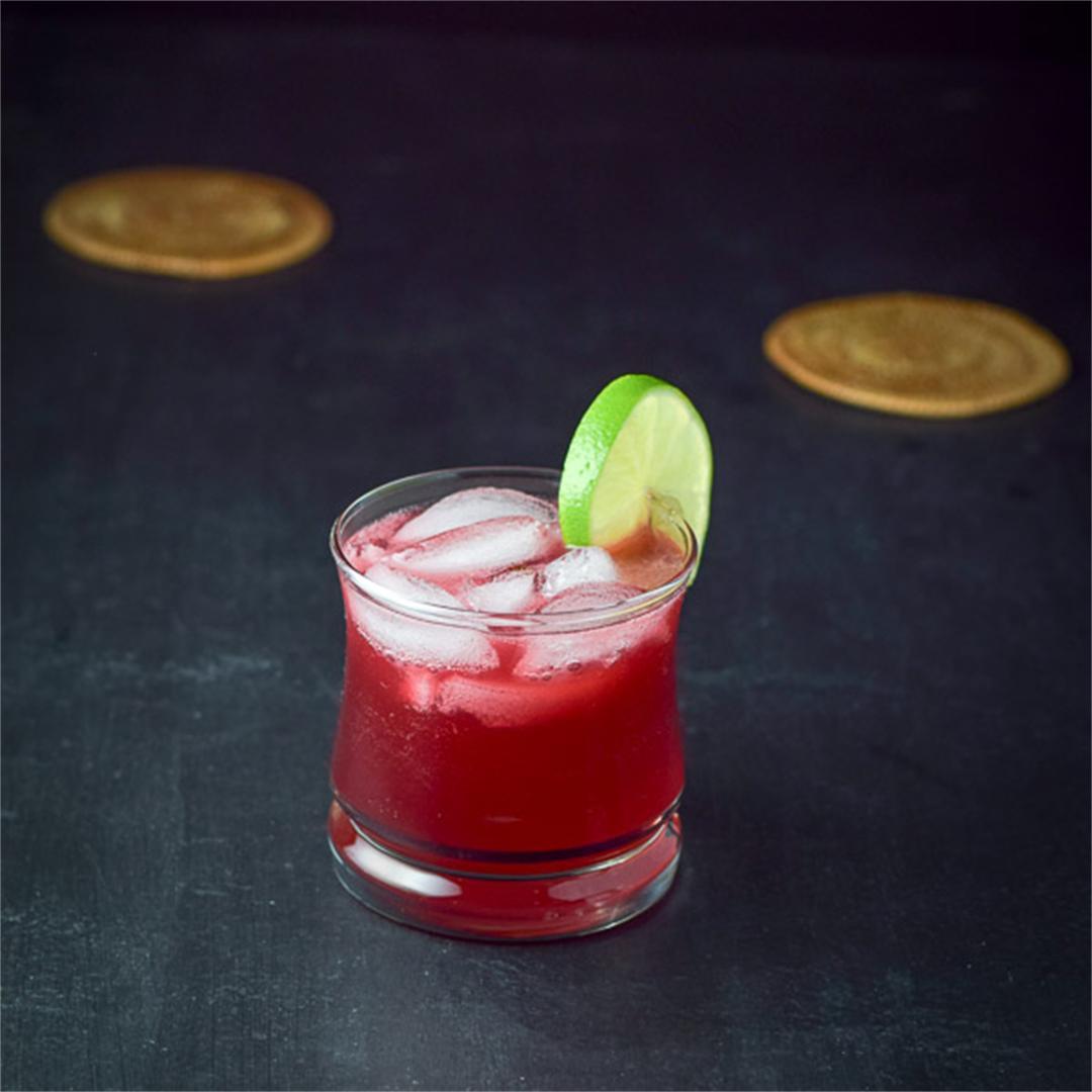 Pretty Pomegranate Margarita