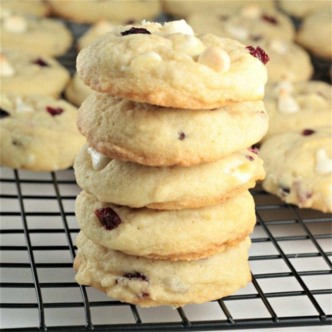 White Chocolate Chip Craisin Cookies