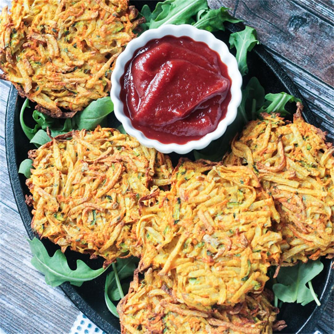Veggie Potato Fritters